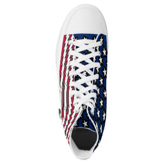 American Flag USA Pride Printed Shoes