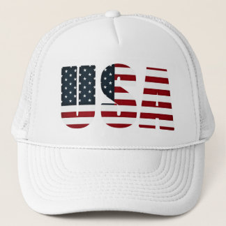 american flag - usa trucker hat