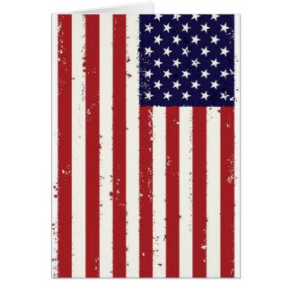 American Flag, USA/US Greeting Card