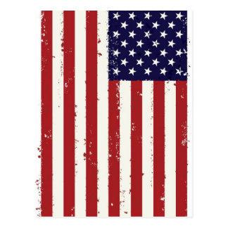 American Flag, USA/US Postcard