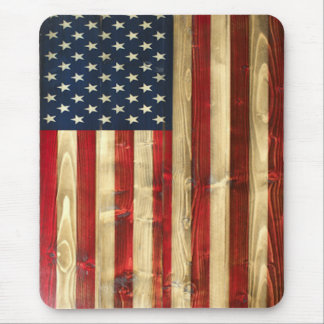 American Flag Vertical Mouse Pad