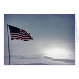 American Flag Veterans Day Card