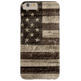 American Flag Vintage Barely There iPhone 6 Plus Case