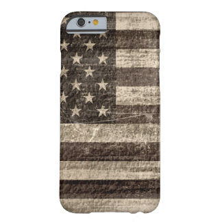 American Flag Vintage Barely There iPhone 6 Case