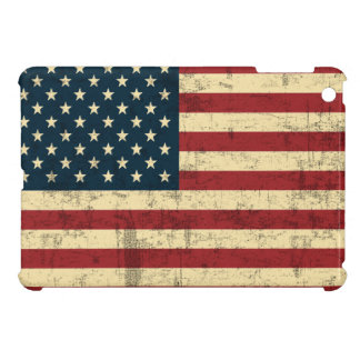 American Flag Vintage Distressed Cover For The iPad Mini