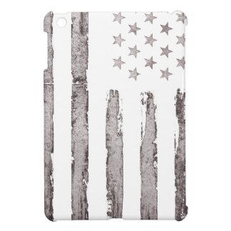 American flag Vintage Grey iPad Mini Cases
