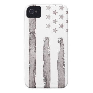American flag Vintage Grey iPhone 4 Covers