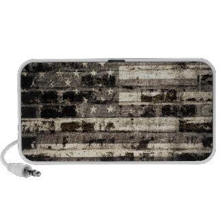 American Flag Vintage Mp3 Speakers
