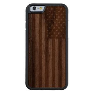 American Flag Walnut iPhone 6 Bumper
