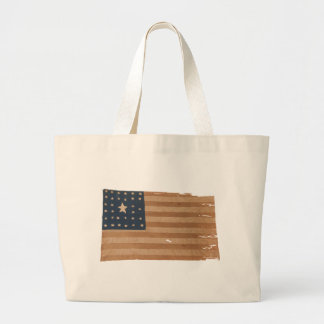 American Flag with 32 Stars Canvas Bags