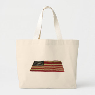 American Flag with 43 Stars Tote Bags