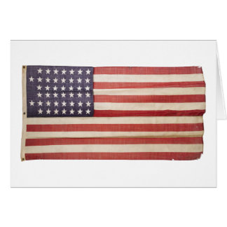 American Flag with 44 Stars Greeting Card