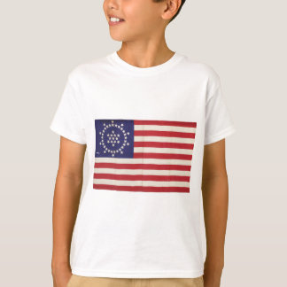 American Flag with 48 Stars Whipple T-shirts