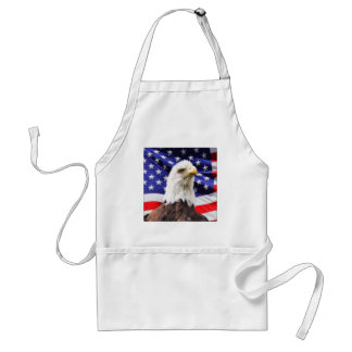 American Flag with Eagle Standard Apron