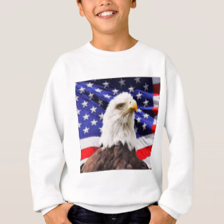 American Flag with Eagle Sweatshirt