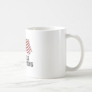 American Flag World Champions Mugs