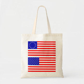 American Flags Canvas Bag