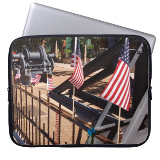 American Flags - Bisbee, AZ Laptop Sleeve