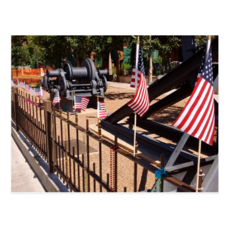 American Flags - Bisbee, AZ Postcard