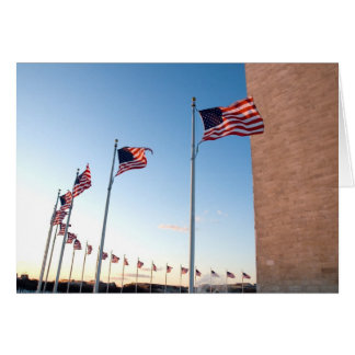 American Flags Card