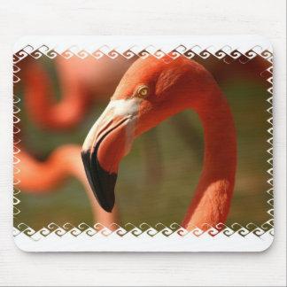 American Flamingo Mouse Pad