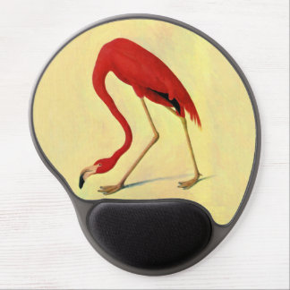 American Flamingo Painting Gel Mouse Mats