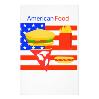 American Food. Stationery