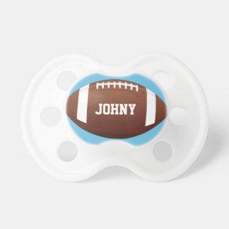 American Football Baby Boy Custom Name/Text Cute Dummy