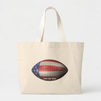 American Football Canvas Bag