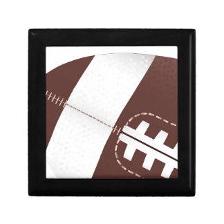 American Football Ball Up Close Gift Box