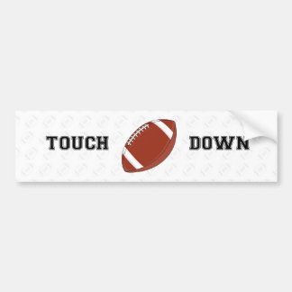 American Football Bumper Sticker