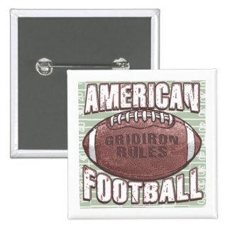 American Football Button