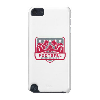 American Football Championship Crest Retro iPod Touch 5G Case