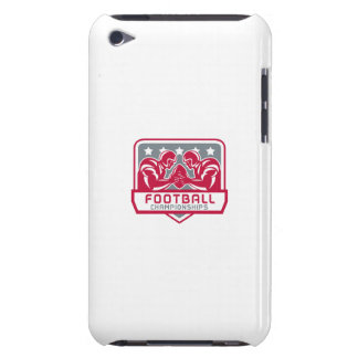 American Football Championship Crest Retro iPod Touch Case-Mate Case