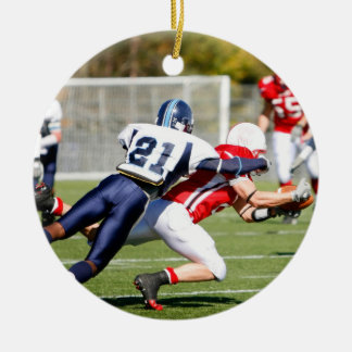 American Football Christmas Ornaments