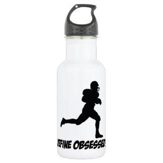 American football designs 532 ml water bottle