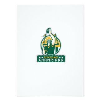 American Football Division Champions Retro Card