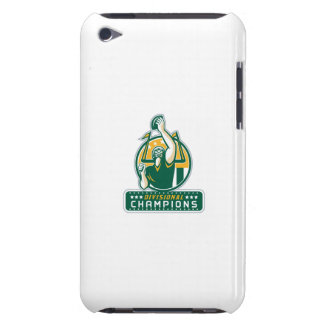 American Football Division Champions Retro iPod Touch Cases