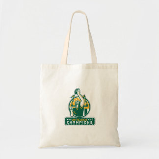 American Football Division Champions Retro Tote Bag