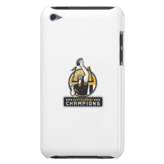 American Football Divisional Champions Retro Barely There iPod Case