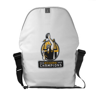 American Football Divisional Champions Retro Messenger Bag