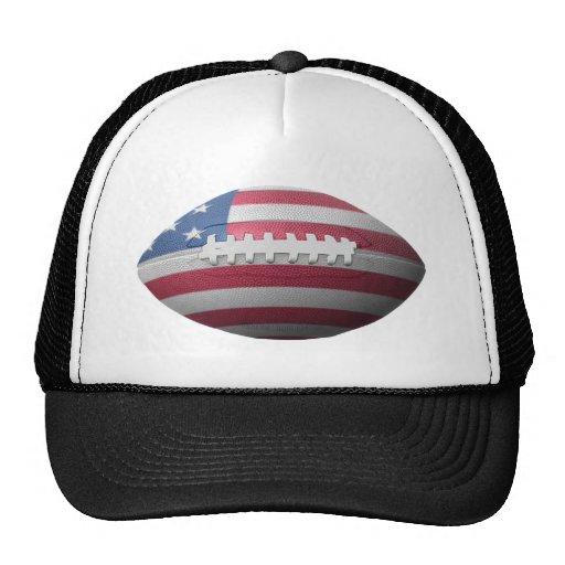 American Football Flag Hat