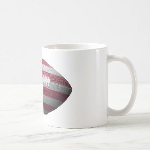 American Football Flag Coffee Mugs
