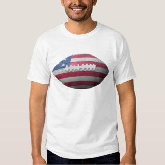 American Football Flag Tee Shirts