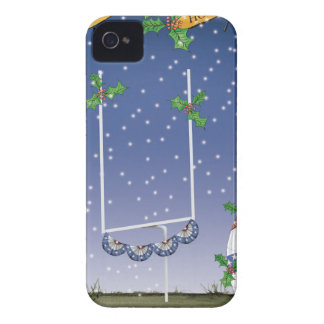 american football happy holiday iPhone 4 cover