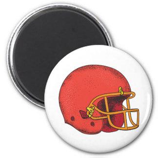 American Football Helmet  Tattoo Magnet