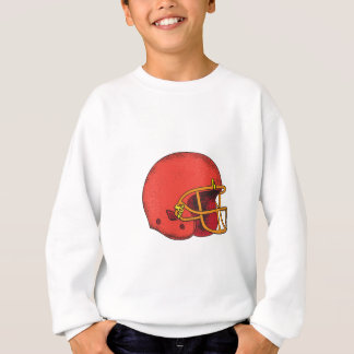 American Football Helmet  Tattoo Sweatshirt