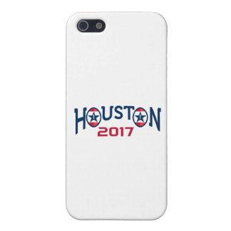 American Football Houston 2017 Word Retro iPhone 5/5S Cases