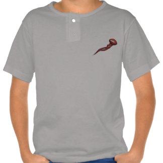 American Football in Flames Art Kids T-Shirt