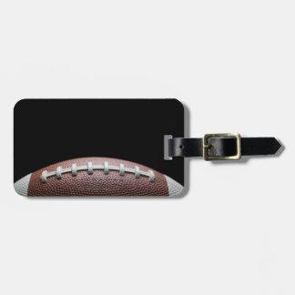 American Football Luggage Tag